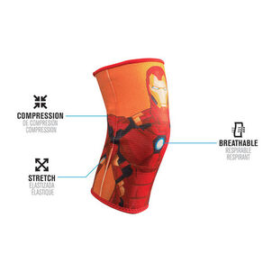DonJoy Advantage Marvel Elastic Knee Support, Youth, Iron Man