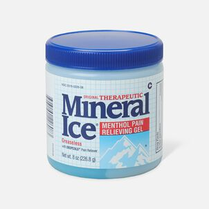 Mineral Ice Menthol Pain Relieving Gel, 8 oz