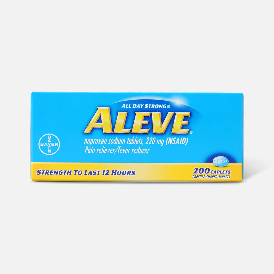 Aleve All Day Strong Pain Reliever, Fever Reducer, Caplet, , large image number 3