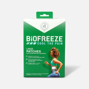 Biofreeze Pain Relief Patch, Large, 5ct