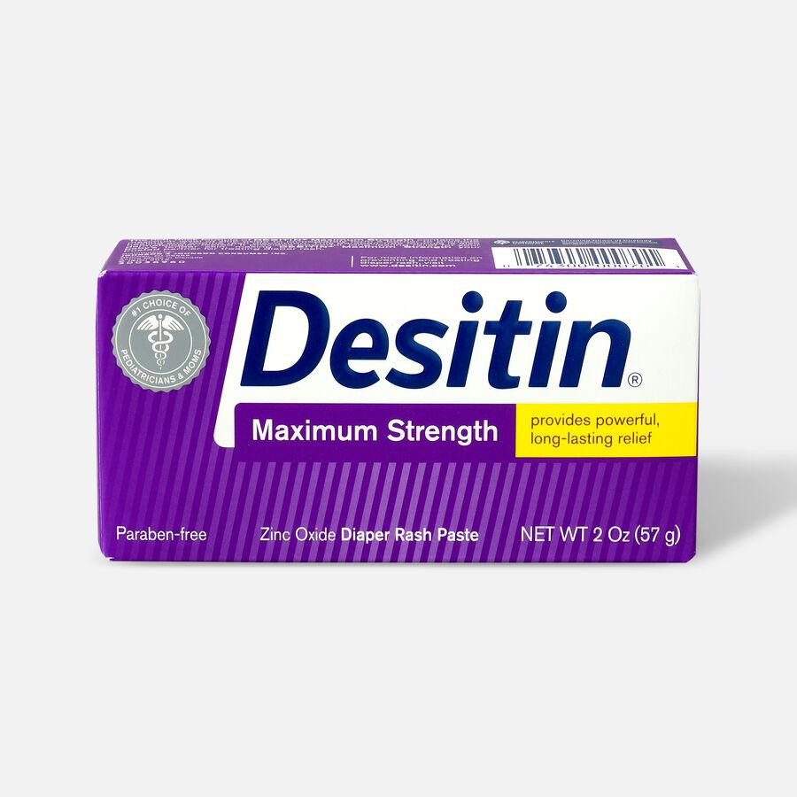 Desitin Maximum Strength Zinc Oxide Diaper Rash Paste, , large image number 4