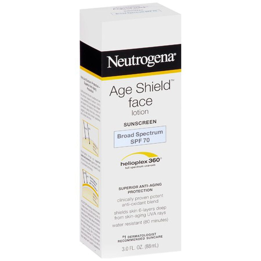 Neutrogena Age Shield Face Sunscreen with SPF 70, 3 oz, , large image number 4