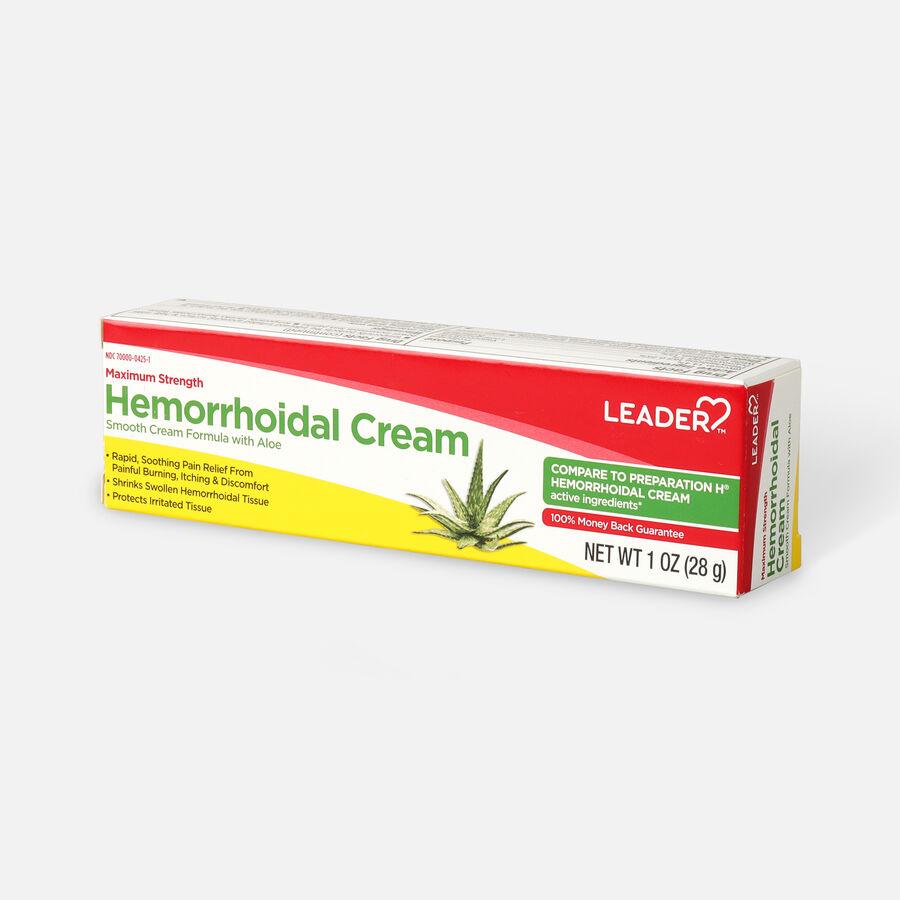 LEADER™ Hemorrhoidal Cream Maximum Strength 1 oz, , large image number 2