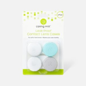 Caring Mill™ Contact Lens Case, 2 Pack