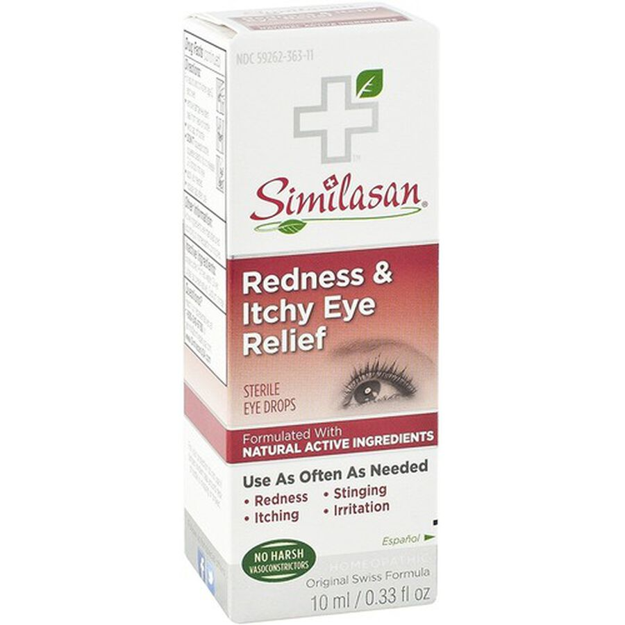Similasan Redness & Itchy Eye Relief, 0.33 fl. oz., , large image number 4