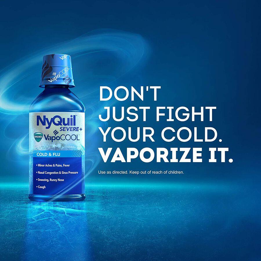 Vicks NyQuil Vapocool Liquid, 12 oz, , large image number 2