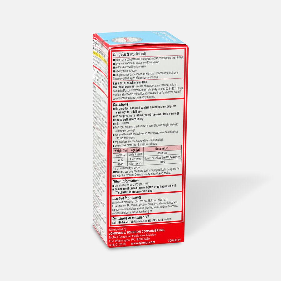 Children's Tylenol Cold + Flu, Grape Flavor, 4 fl oz, , large image number 2