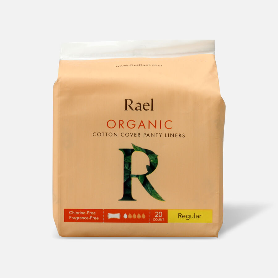 Rael Organic Cotton Cover Panty Liners - Regular, , large image number 0