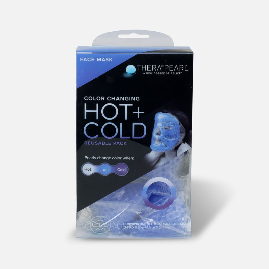 TheraPearl Cooling Facemask, , large image number 0