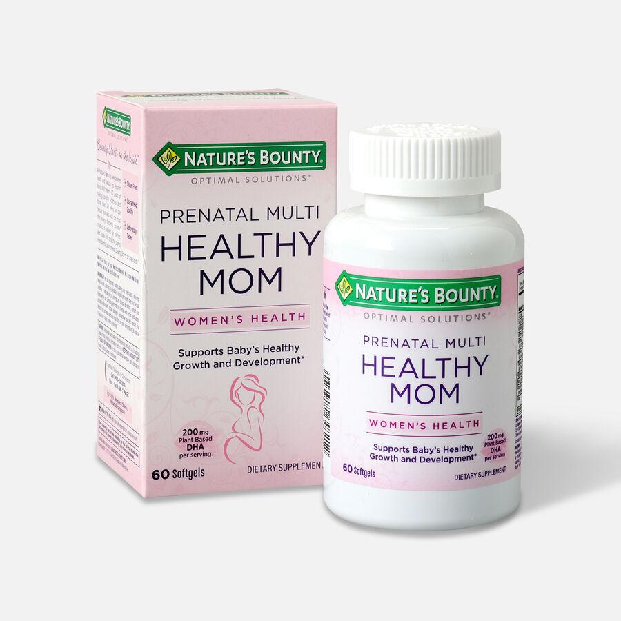 Optimal Solutions Healthy Mom Prenatal Multi Softgels, 60 Ct, , large image number 2