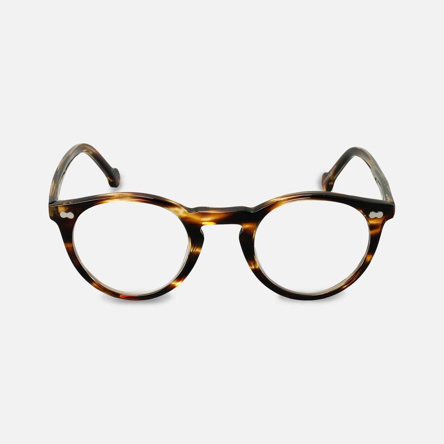 eyeOs Wise Guy Tortoise Premium Reading Glasses, , large image number 4