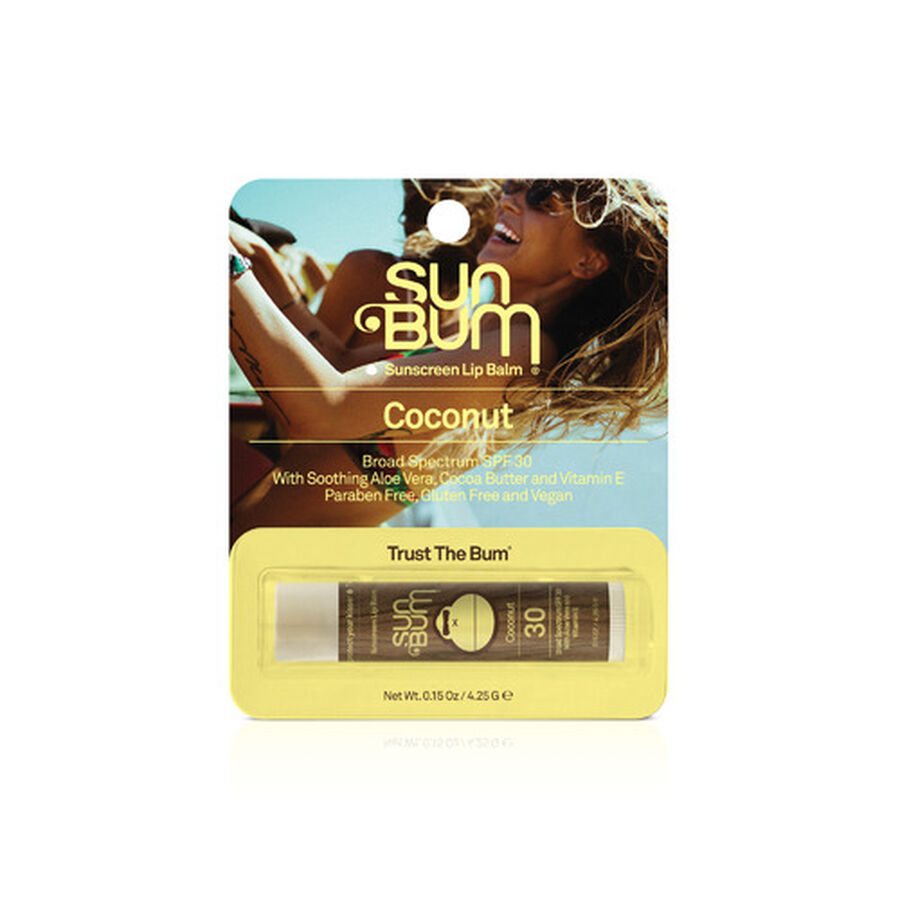 Sun Bum Lip Balm, SPF 30, Coconut, .15 oz, , large image number 1