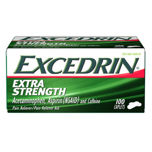 Excedrin Extra Strength Caplets, 100 ct
