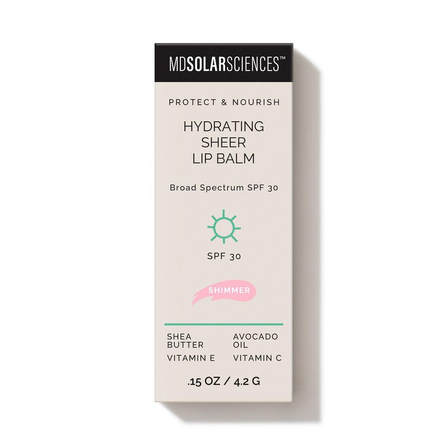 MDSolarSciences Hydrating Sheer Lip Balm SPF 30, Shimmer, Shimmer, large image number 3