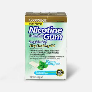 GoodSense® Nicotine Polacrilex Gum, 2 mg (nicotine), Non-Coated, 110 ct