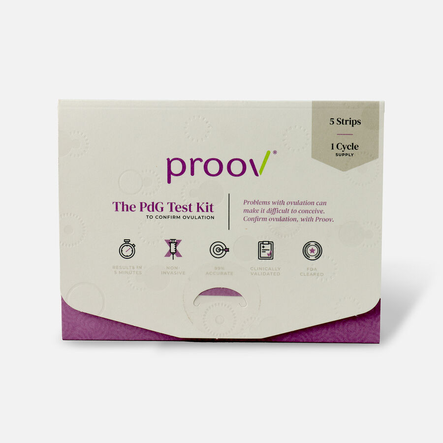 Proov 1 Cycle PdG Test Kit, , large image number 0