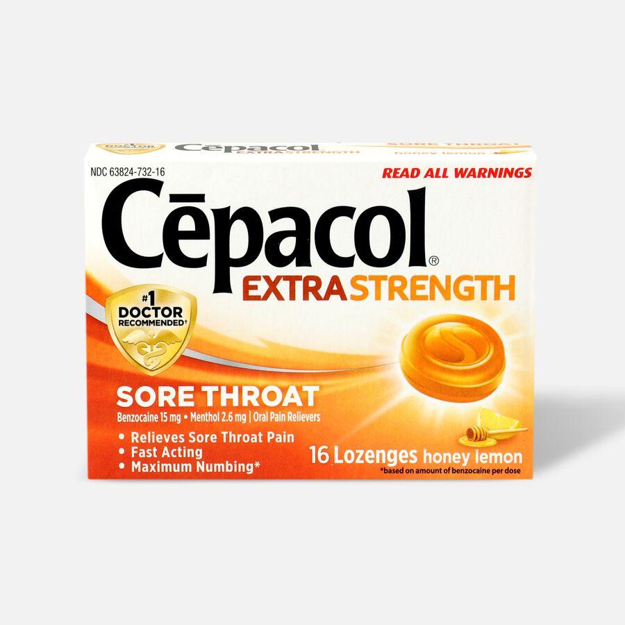 Cepacol Extra Strength Lozenges, Honey Lemon, , large image number 0