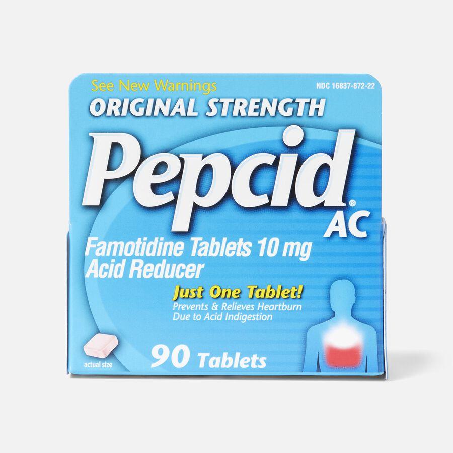 Pepcid AC Acid Reducer Original Strength Tablets, 90 ct, , large image number 0
