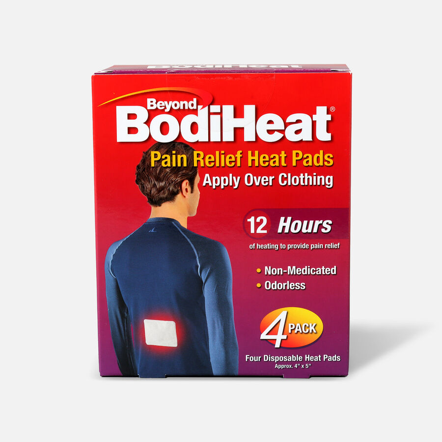 Beyond BodiHeat® Pain Relieving Heat Pads, 4 ea, , large image number 0