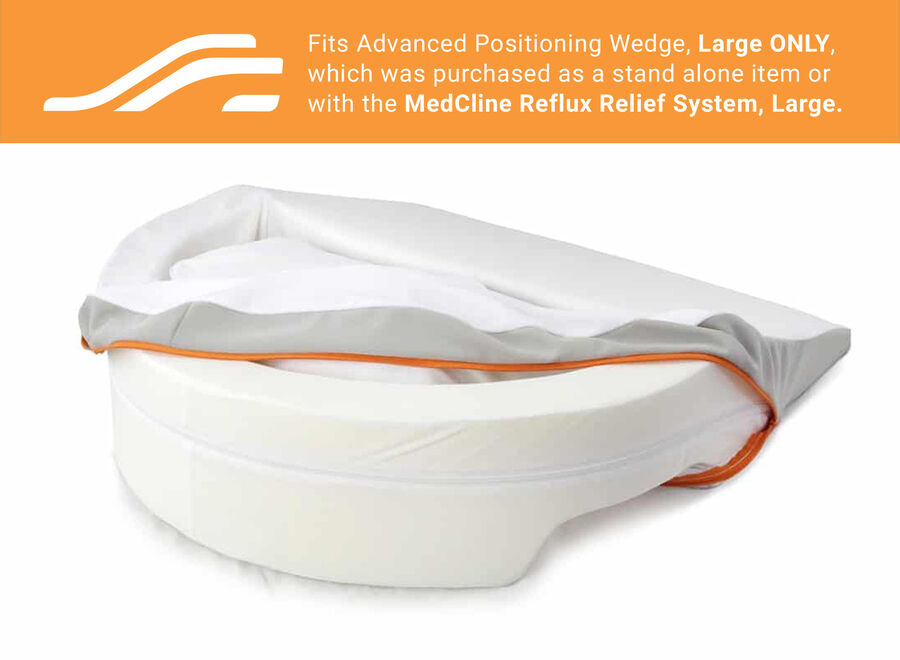 MedCline Advanced Positioning Wedge Cover, Medium, , large image number 1