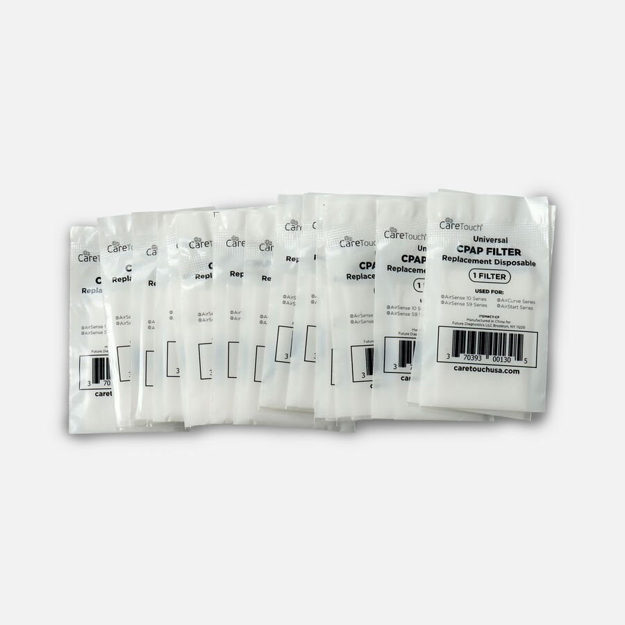 CareTouch CPAP Disposable Filters, 15 ct, for ResMed AirSense S9, S10 & Aircurve Series, , large image number 2