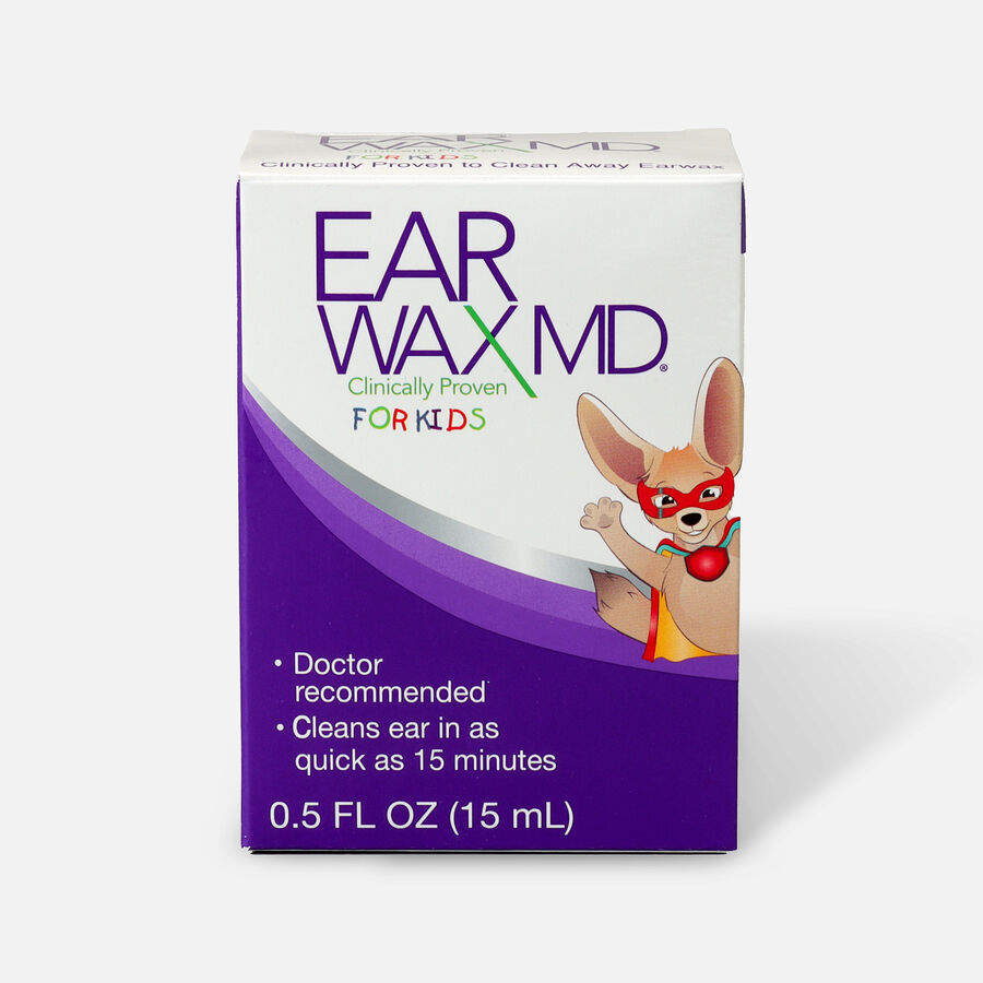 Earwax MD for Kids, Ear Wax Removal Kit and Ear Cleaning Tool, , large image number 0