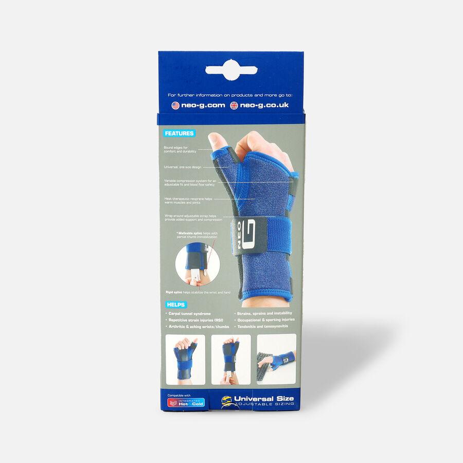 Neo G Stabilized Wrist & Thumb Brace, One Size, Left, , large image number 1