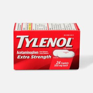 Tylenol Extra Strength Caplets, 24 ct