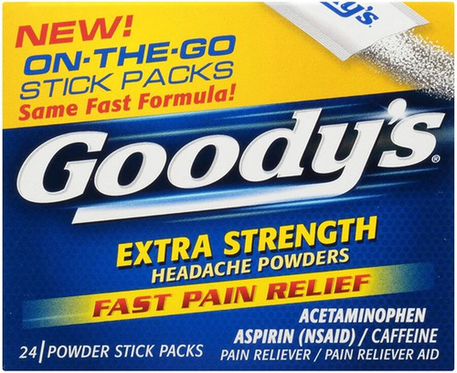 Goody's Extra Strength Headache Powder, 24 ct., , large image number 0