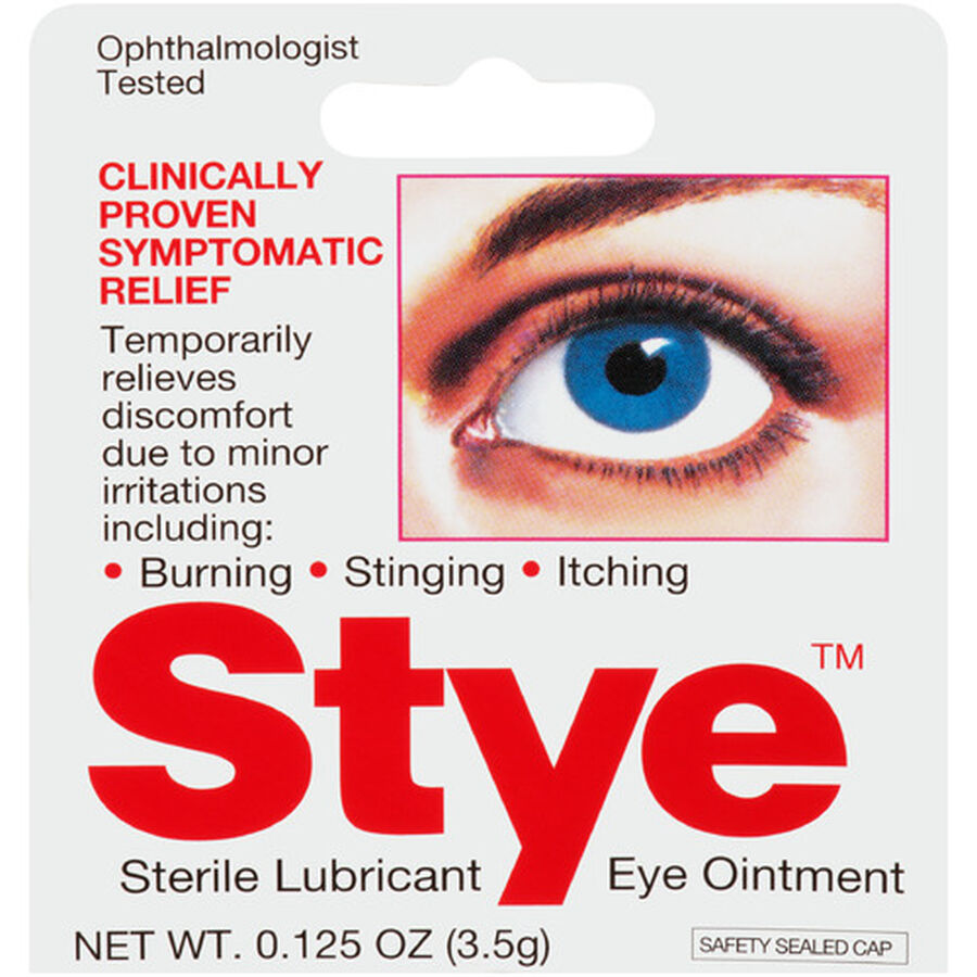 Stye Eye Lubricant Ointment, .125 oz, , large image number 0