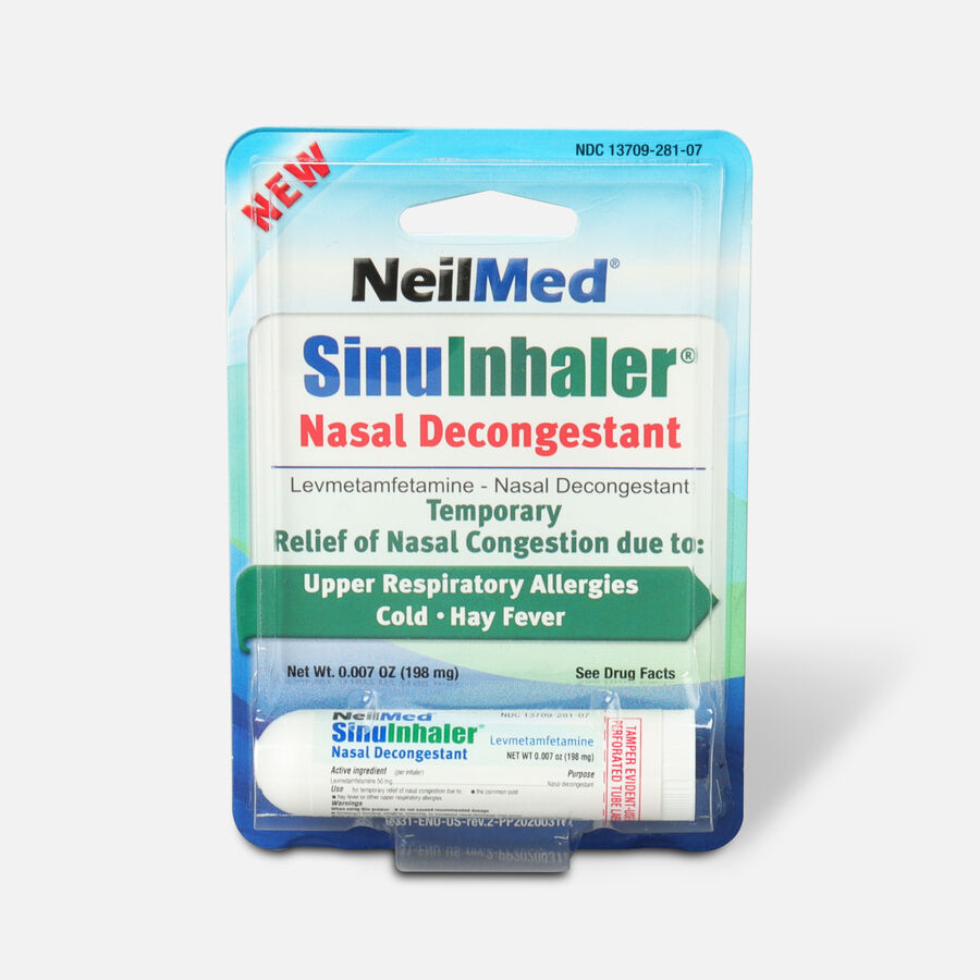 NeilMed SinuInhaler Decongestant, , large image number 0