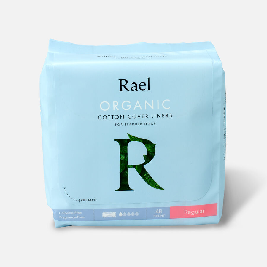 Rael Organic Cotton Cover Panty Liners for Bladder Leaks, , large image number 3