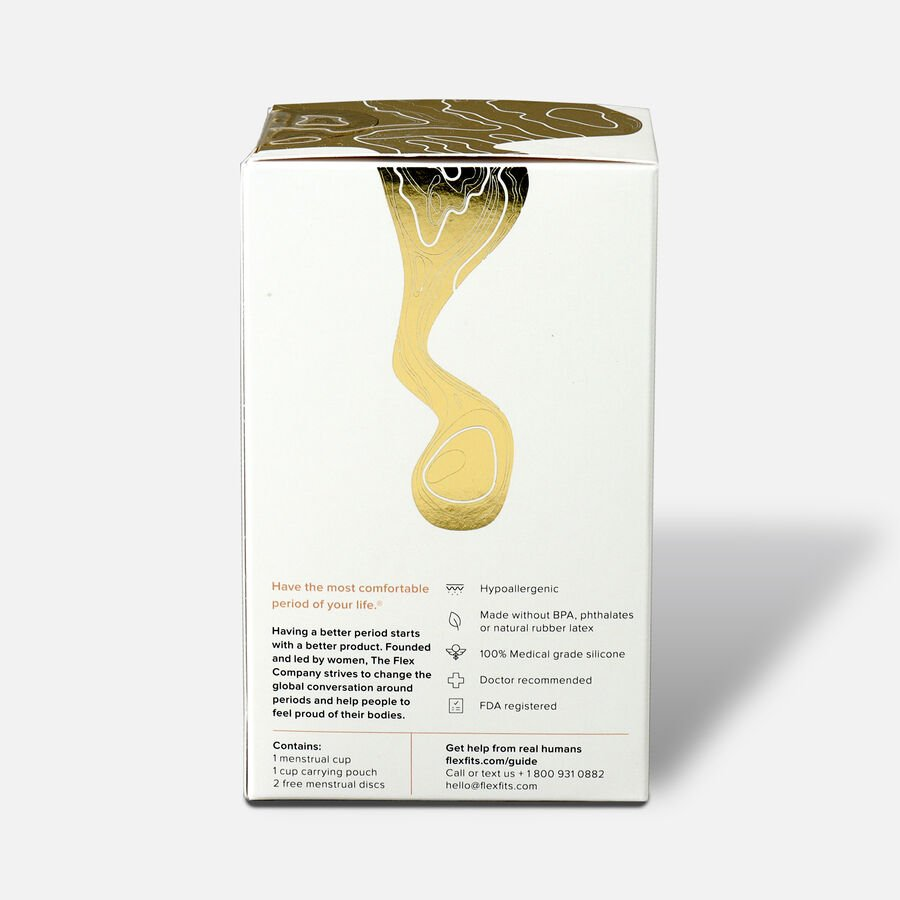 FLEX Menstrual Cup (includes 2 FREE Menstrual Discs), , large image number 2