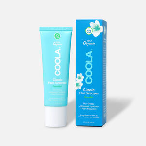 Coola Classic Face Organic Sunscreen Lotion SPF 30 Cucumber, 1.7oz