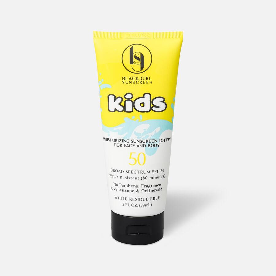 Black Girl Sunscreen for Kids, Broad Spectrum, SPF 50, 3 oz, , large image number 0
