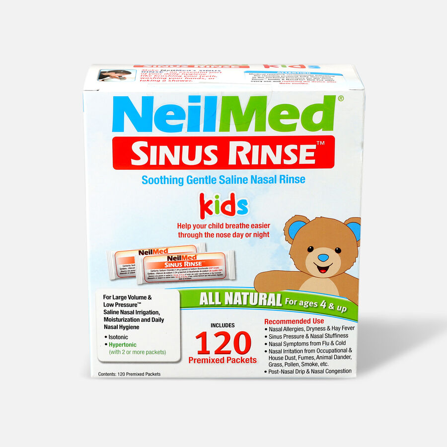 NeilMed Sinus Rinse Pediatric Packets, 120 ea, , large image number 0