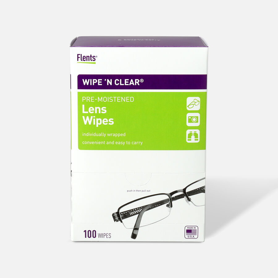 Flents Wipe 'N Clear Pre-moistened XL Lens Wipes, , large image number 2