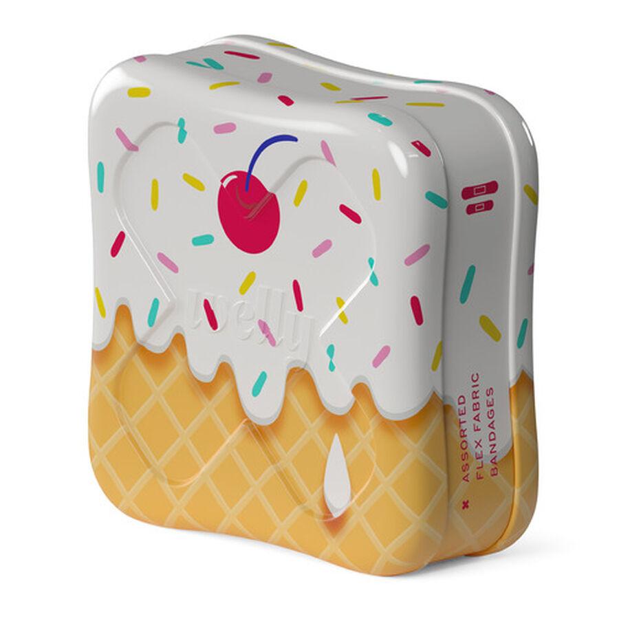 Welly Bravery Badges Ice Cream Assorted Flex Fabric Bandages - 48ct, , large image number 6