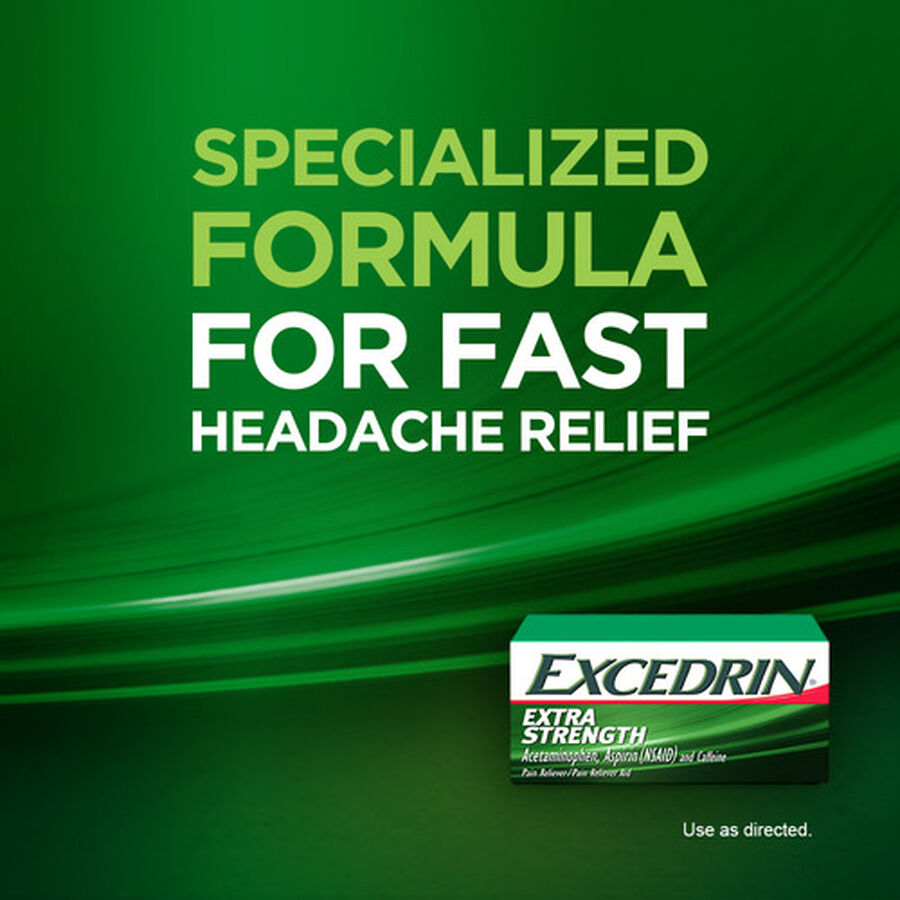 Excedrin Extra Strength Caplets, 100 ct, , large image number 8