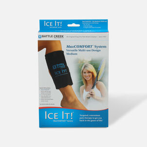 "Battle Creek Ice It! ColdComfort Therapeutic System, 6"" x 9"""