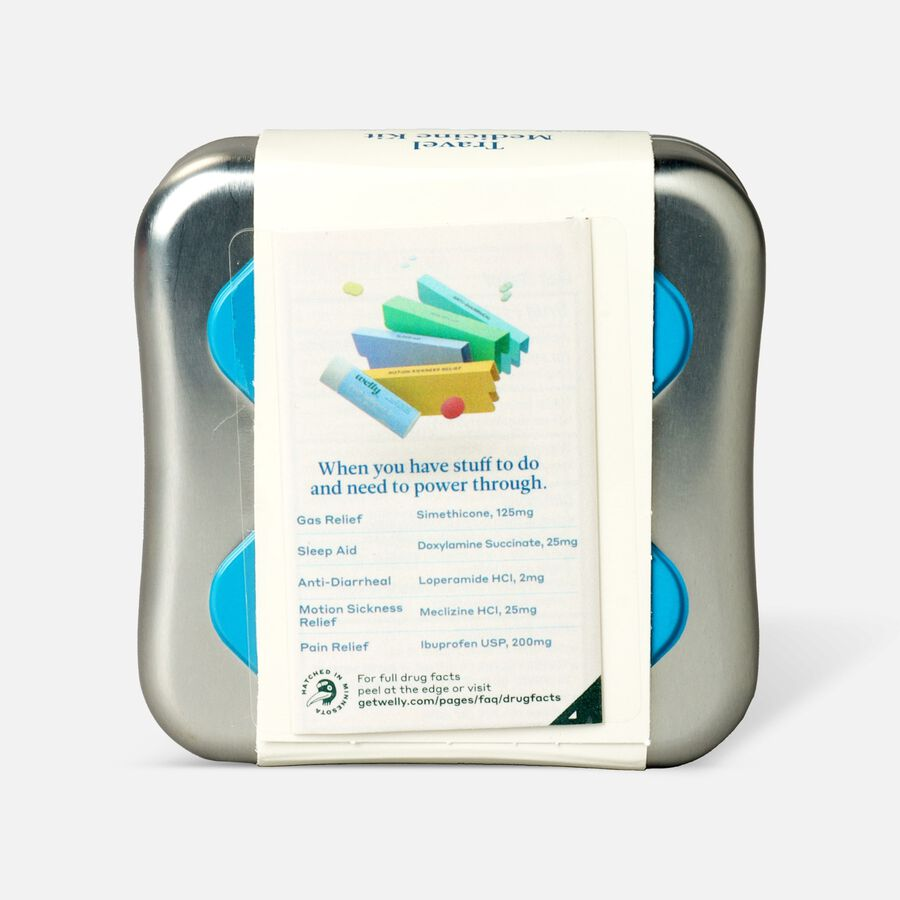Welly Travel Medicine Kit - 42ct, , large image number 1