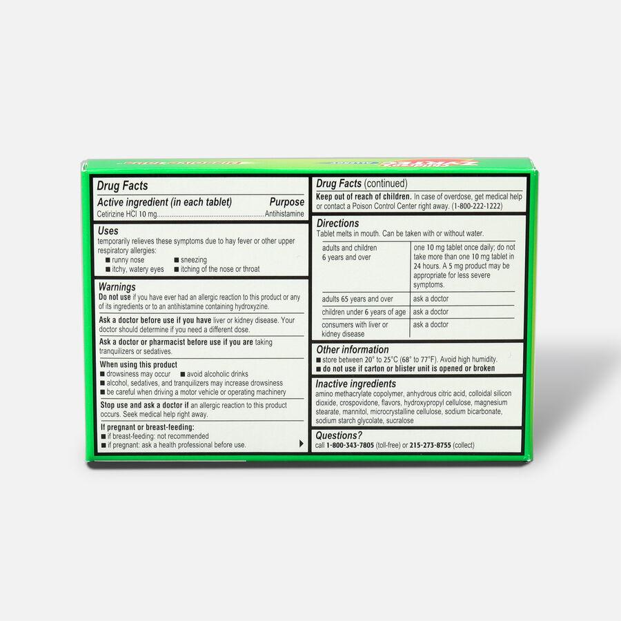Children's Zyrtec Allergy Dissolve Tablets, Citrus Flavored, 12 Count, , large image number 1