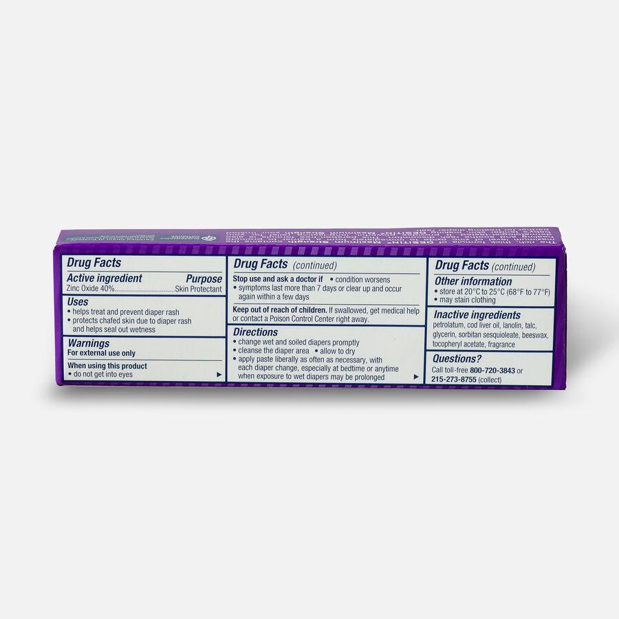 Desitin Maximum Strength Zinc Oxide Diaper Rash Paste, , large image number 1
