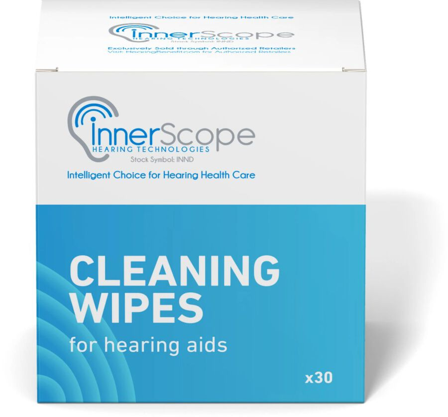 InnerScope Hearing Technologies Hearing Product Cleaning Wipes, , large image number 0