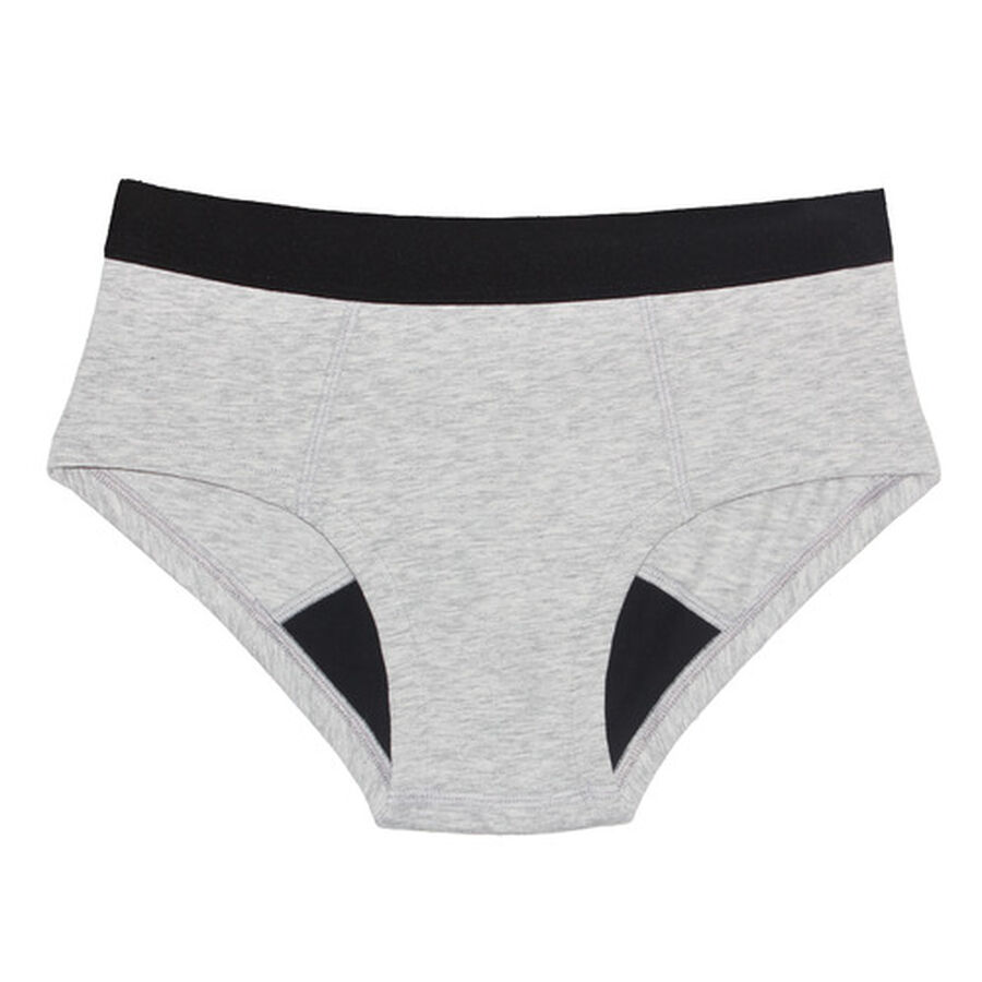 Thinx Period Proof Cotton Brief, , large image number 1