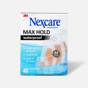Nexcare Max Hold Bandage Assorted Sizes - 15ct