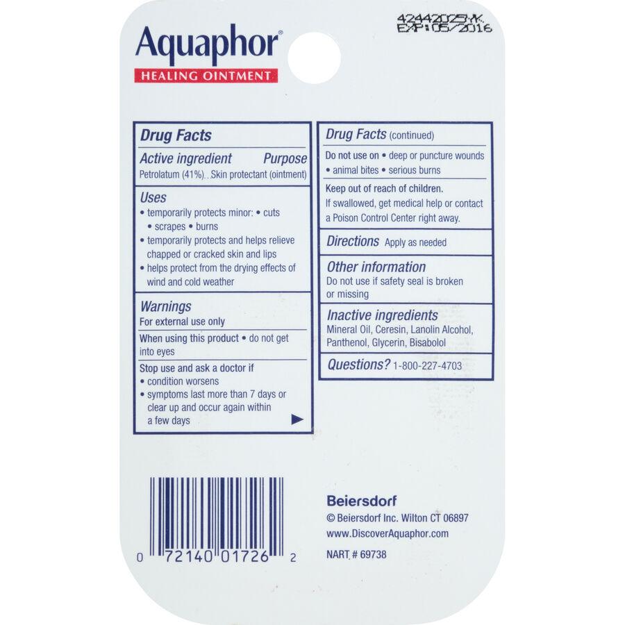 Aquaphor Mini Healing Ointment, .25oz, , large image number 1