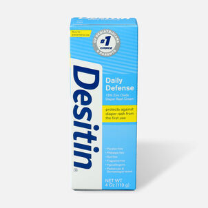 Desitin Daily Defense Zinc Oxide Diaper Rash Cream