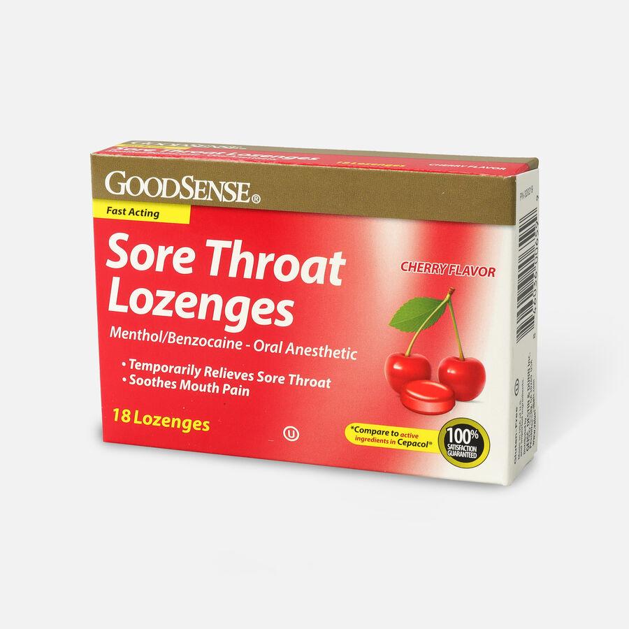 GoodSense® Sore Throat Lozenge 18 Count, Cherry, , large image number 2