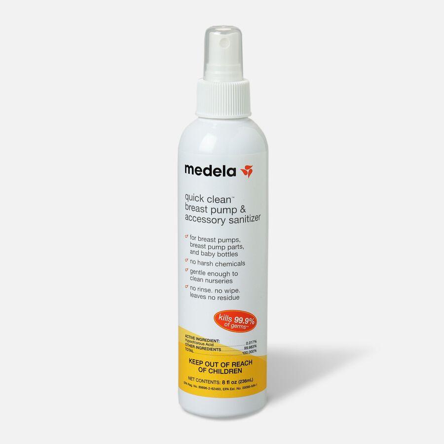 Medela Quick Clean Breast Pump & Accessory Sanitizer 8 oz, , large image number 0